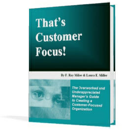 That's Customer Focus Book
