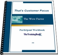 The Wow Factor Workshop workbook
