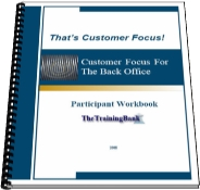 Customer Focus for the back Office Workbook